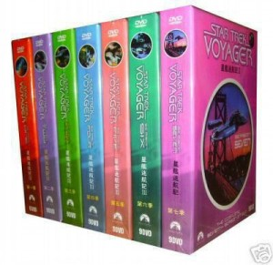 My new Star Trek Voyager S1-7 DVD set is a Faaake!